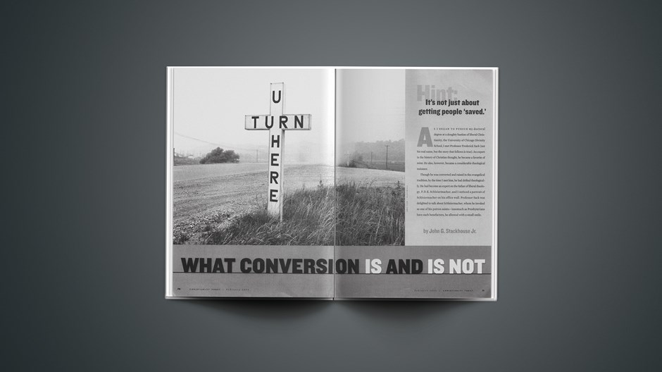 What Conversion Is and Is Not