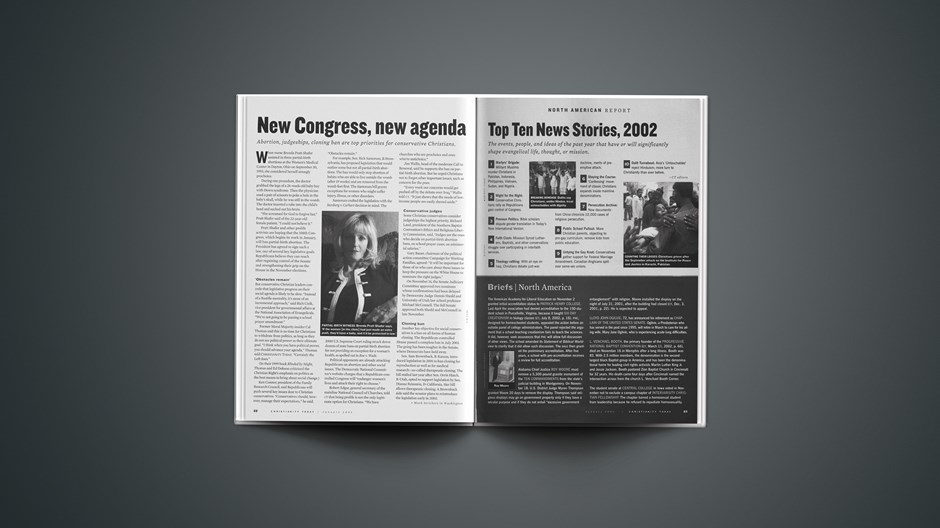"""New Congress, New Agenda"""