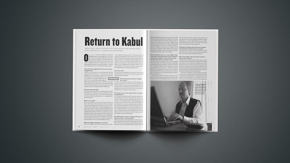 Return to Kabul