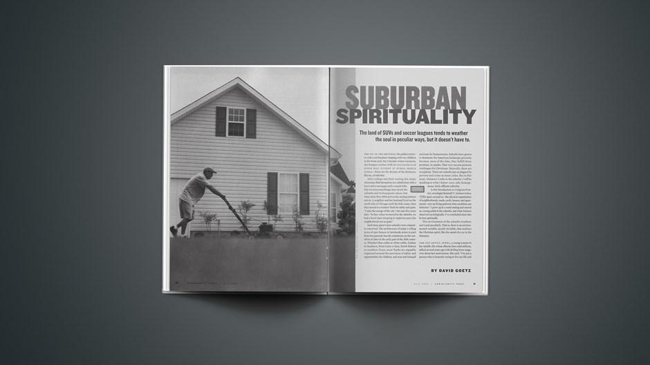 Suburban Spirituality