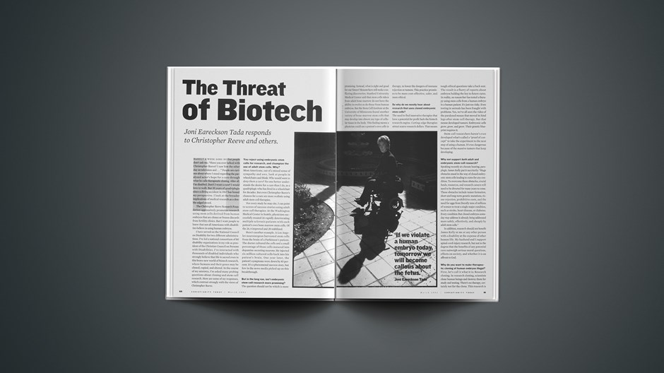 The Threat of Biotech