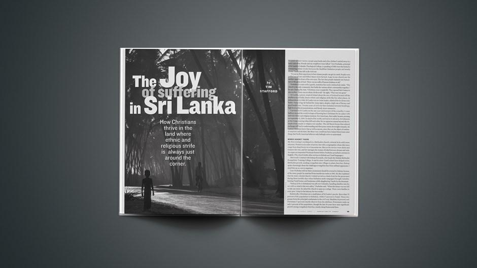 The Joy of Suffering in Sri Lanka