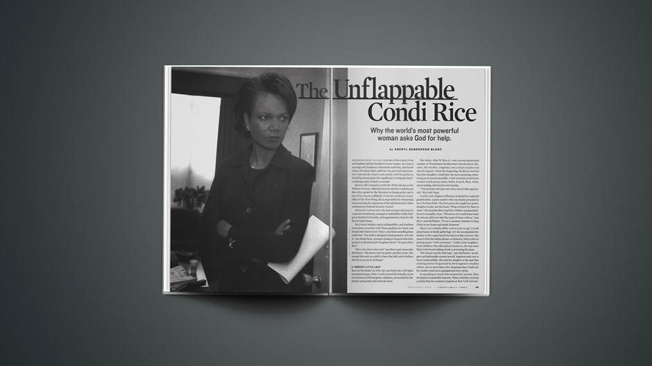 The Unflappable Condi Rice
