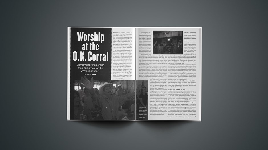 Worship at the O.K. Corral