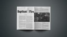 Baptism + Fire