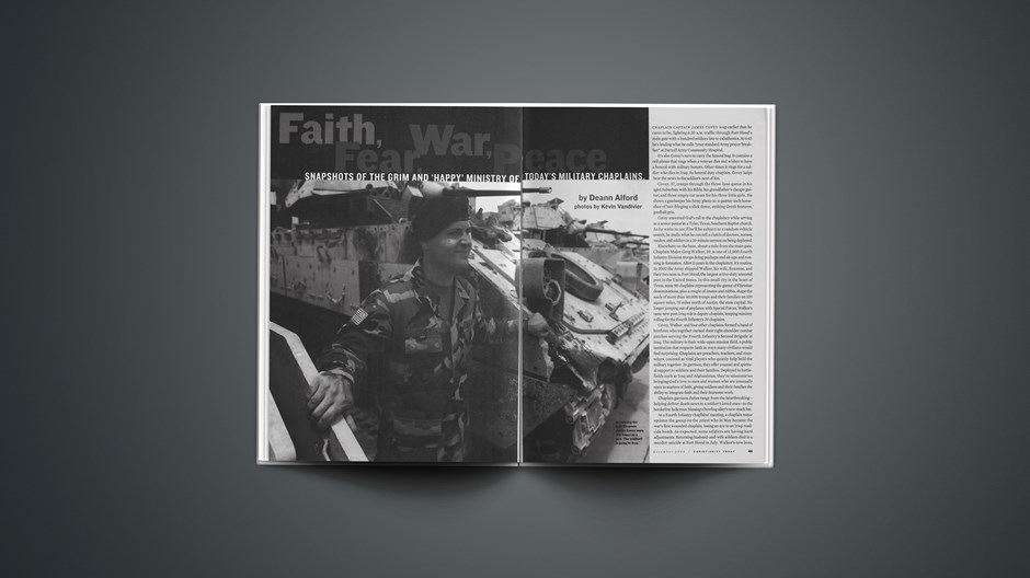 Faith, Fear, War, Peace
