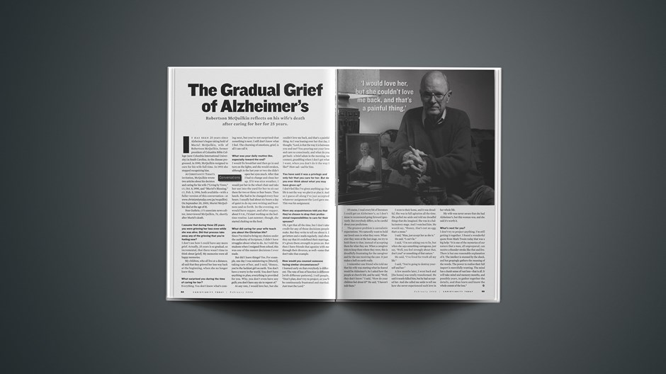 The Gradual Grief of Alzheimer's