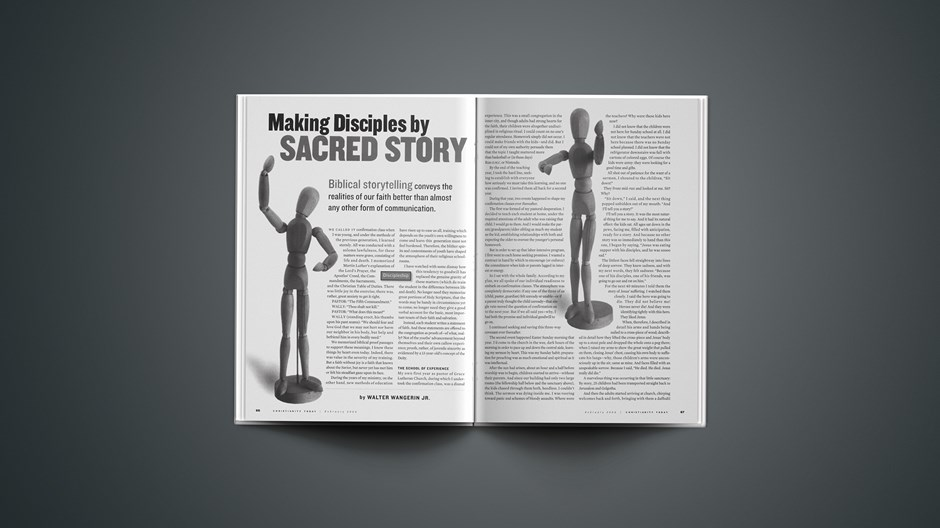 Making Disciples by Sacred Story