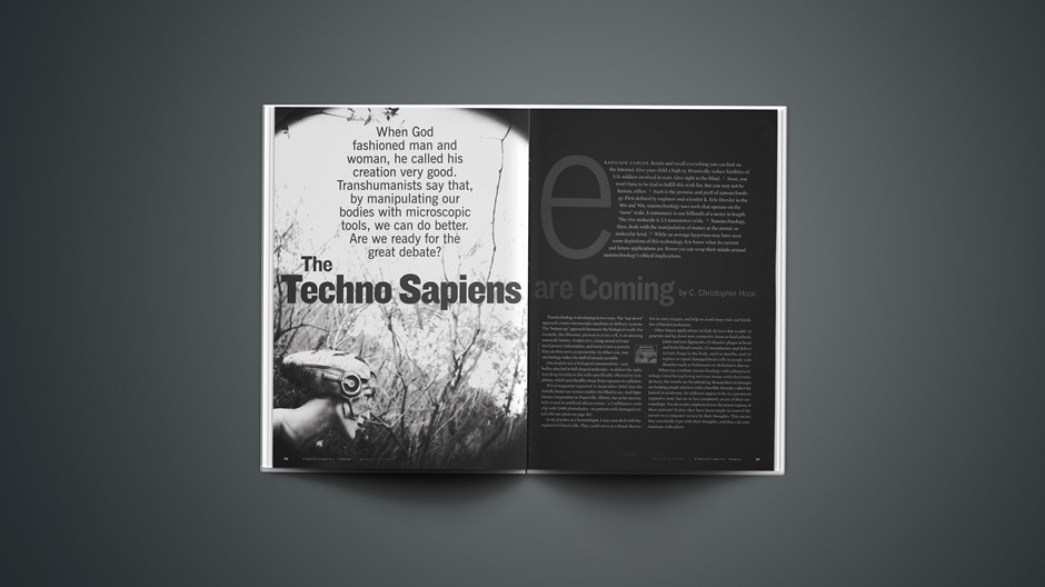 The Techno Sapiens Are Coming