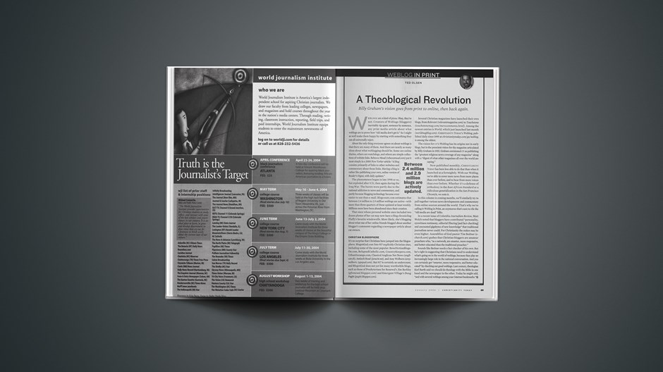 A Theoblogical Revolution
