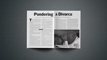 Pondering a Divorce