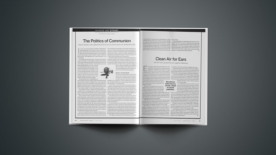 The Politics of Communion