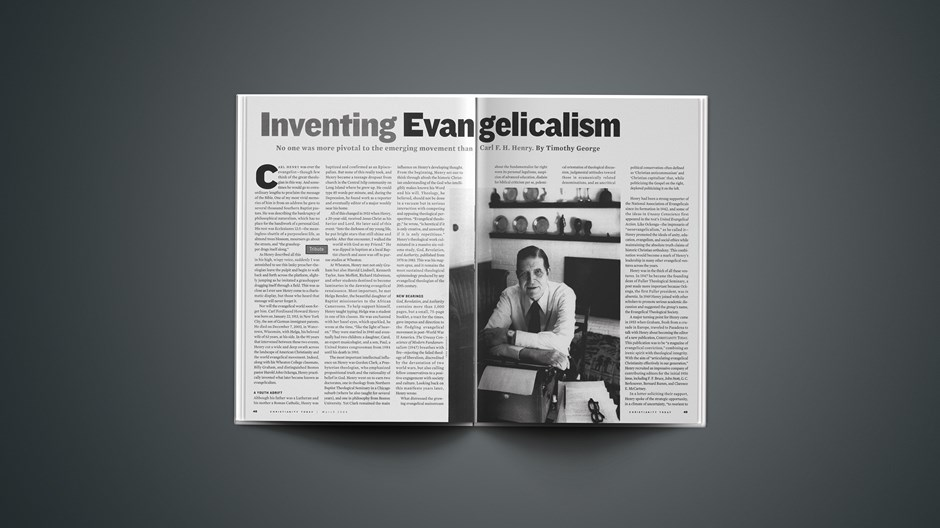 How the Late Carl Henry Helped Invent Evangelicalism