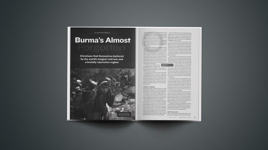 Burma's Almost Forgotten