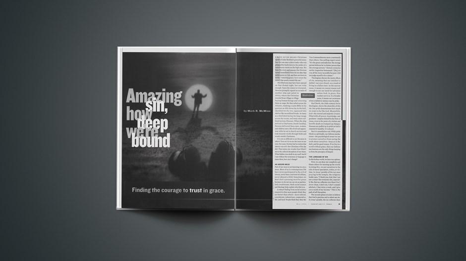 Amazing Sin, How Deep We're Bound