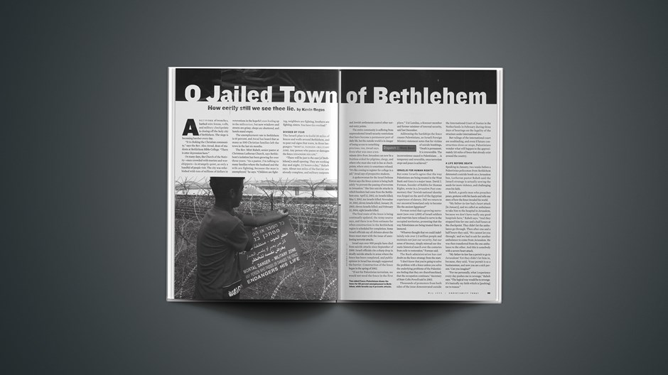 O Jailed Town of Bethlehem