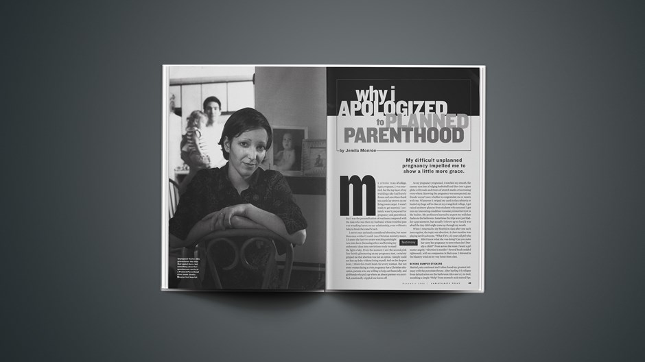 Why I Apologized to Planned Parenthood