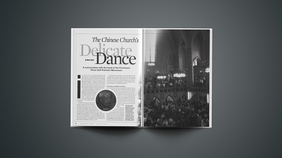 The Chinese Church's Delicate Dance