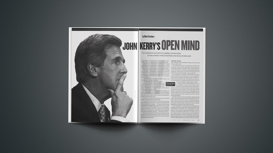 John Kerry's Open Mind