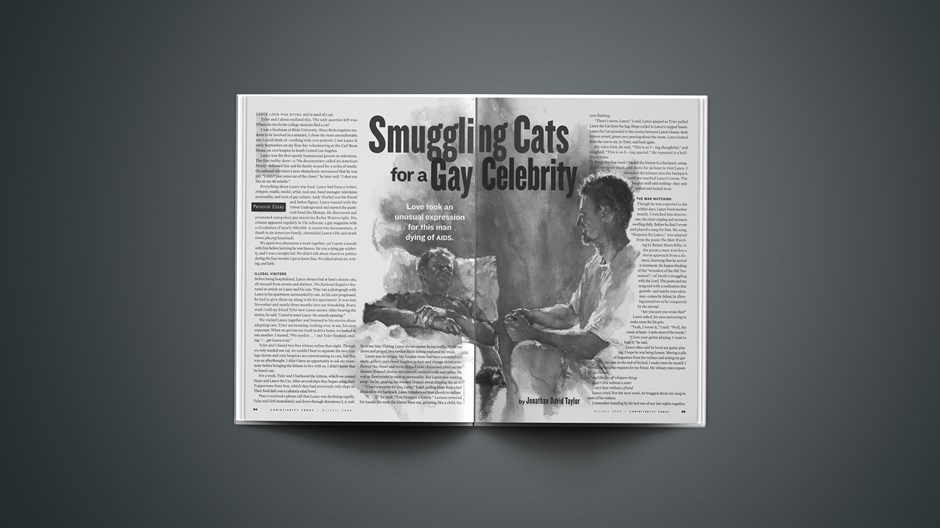 Smuggling Cats for a Gay Celebrity