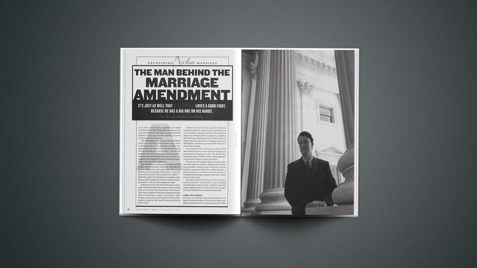 The Man Behind the Marriage Amendment