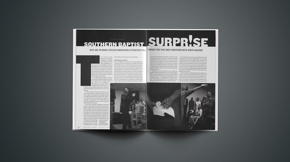 Southern Baptist Surprise!