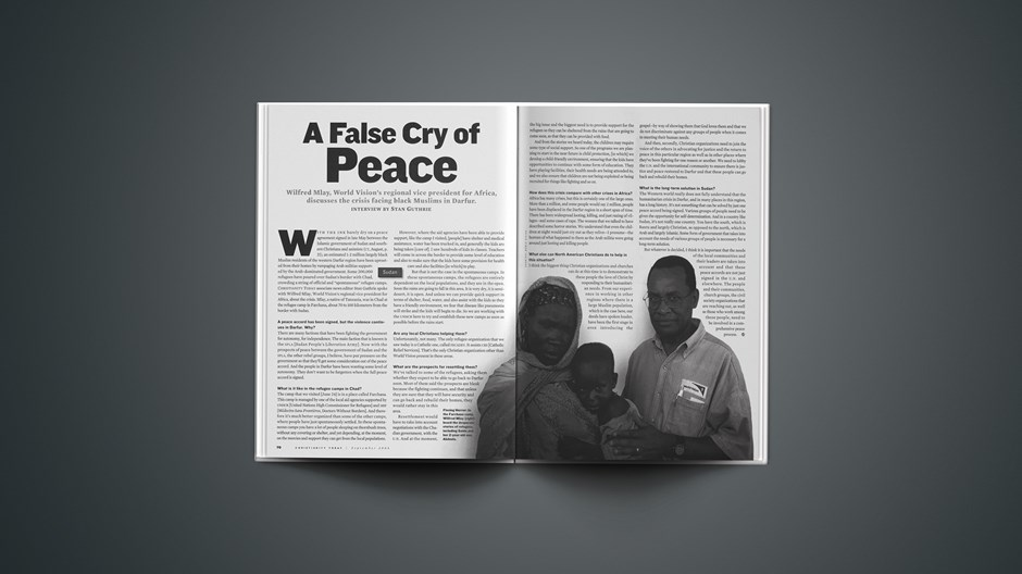 A False Cry of Peace