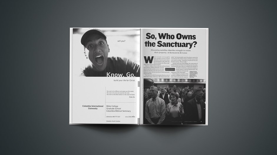 So, Who Owns the Sanctuary?