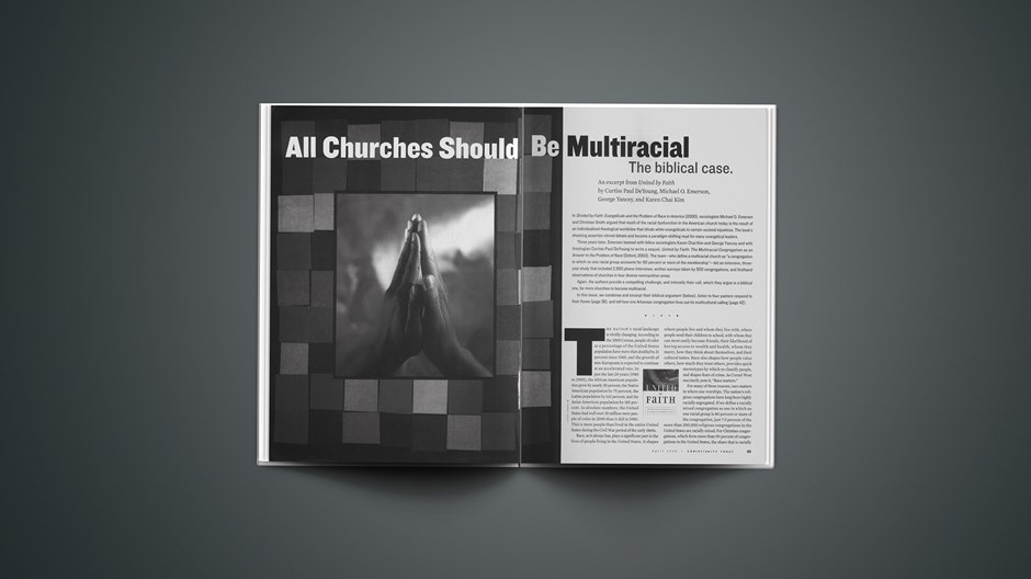 All Churches Should Be Multiracial