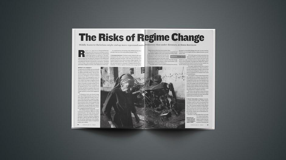 The Risks of Regime Change