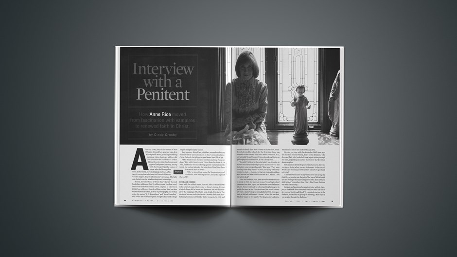 Interview with a Penitent