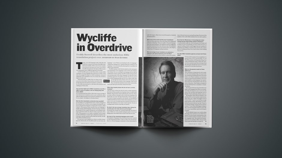Wycliffe in Overdrive