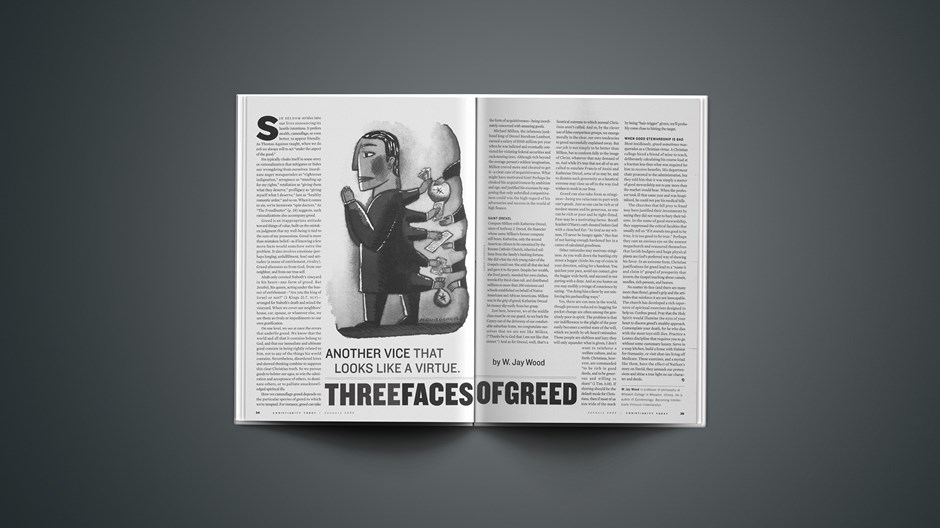 Three Faces of Greed