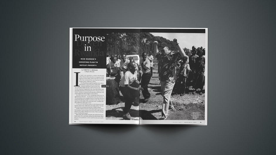 Purpose Driven in Rwanda
