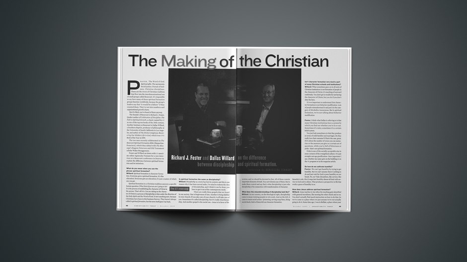 The Making of the Christian