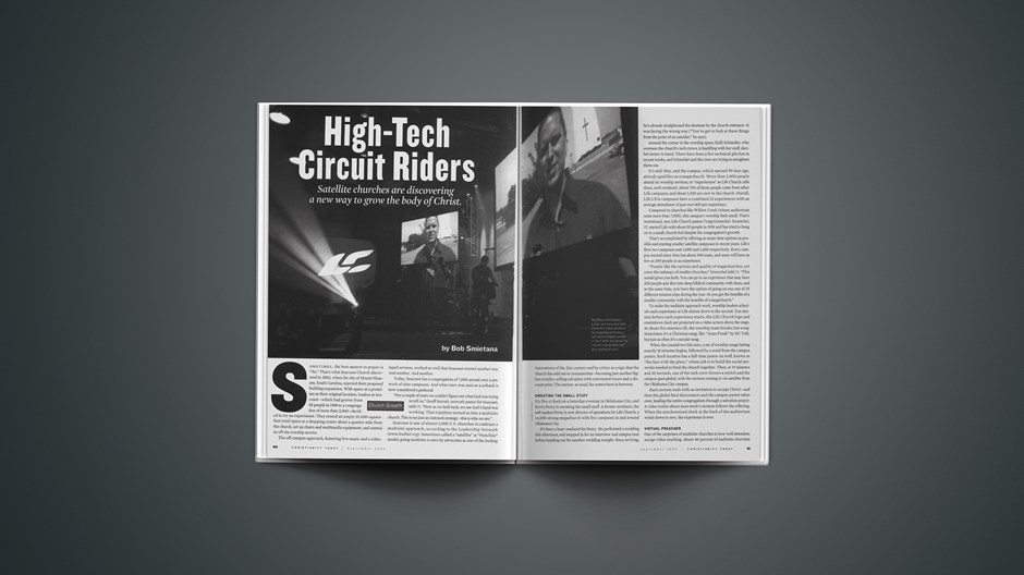 High-Tech Circuit Riders