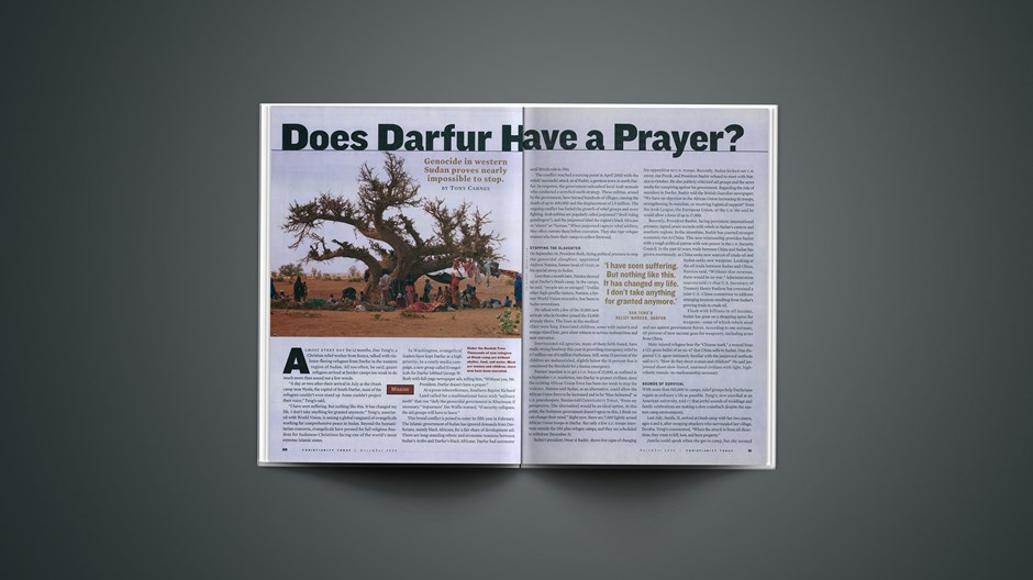 Does Darfur Have a Prayer?