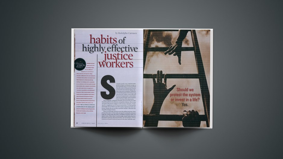 Some Habits of Highly Effective Justice Workers
