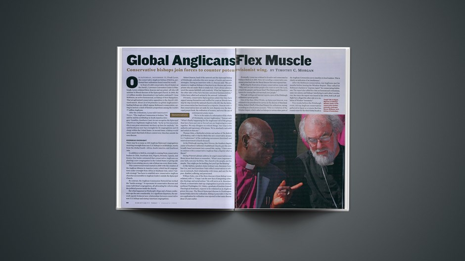 Global Anglicans Flex Muscle