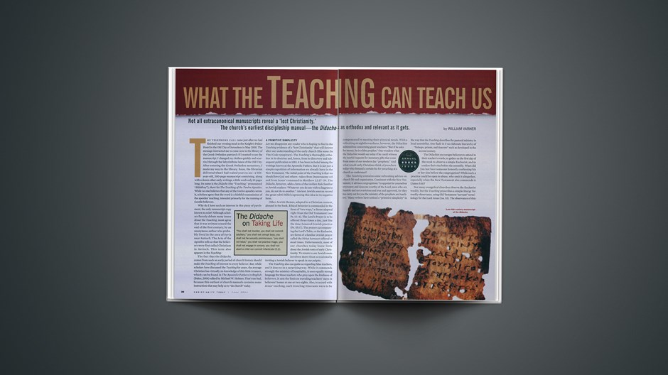 What the <em>Teaching</em> Can Teach Us