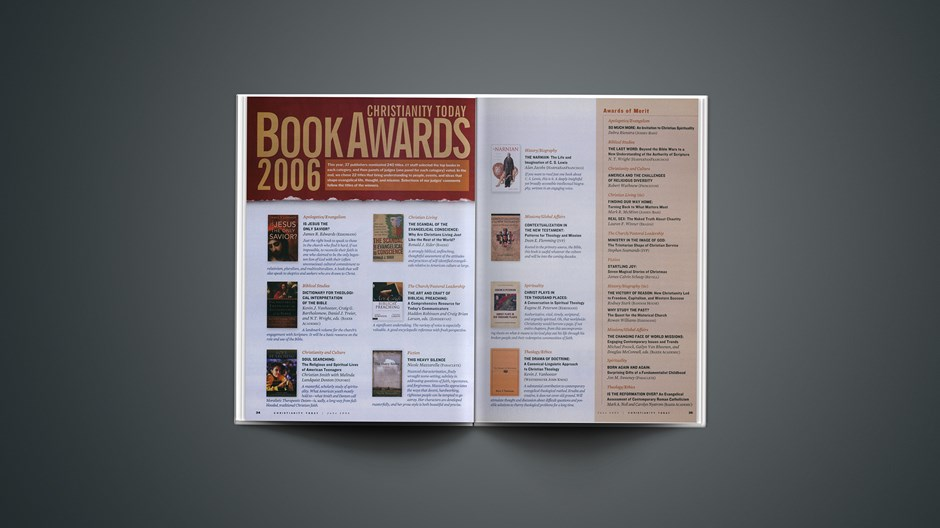 2006 Christianity Today Book Awards
