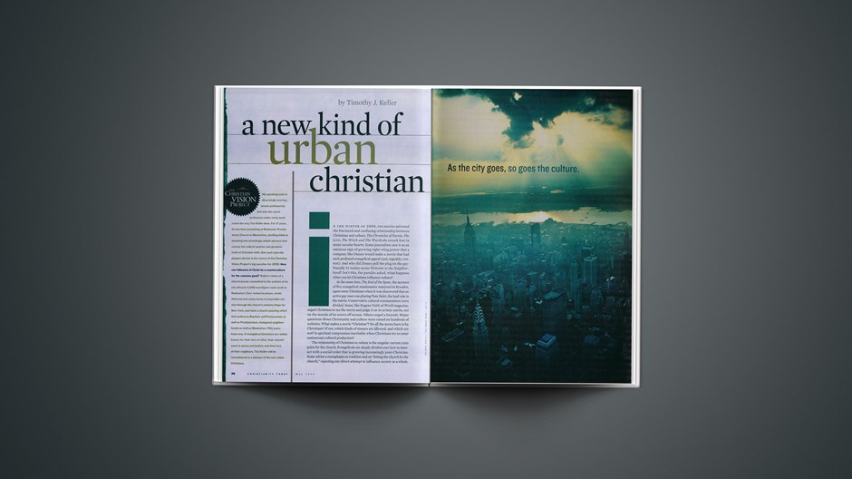 A New Kind of Urban Christian