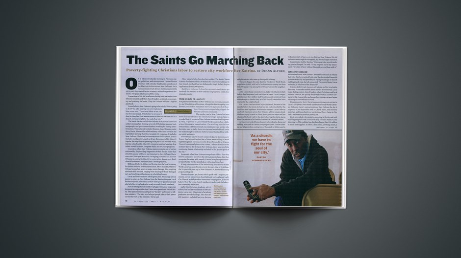 The Saints Go Marching Back