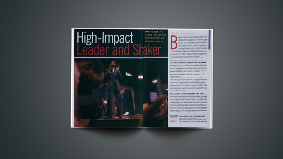High-Impact Leader and Shaker