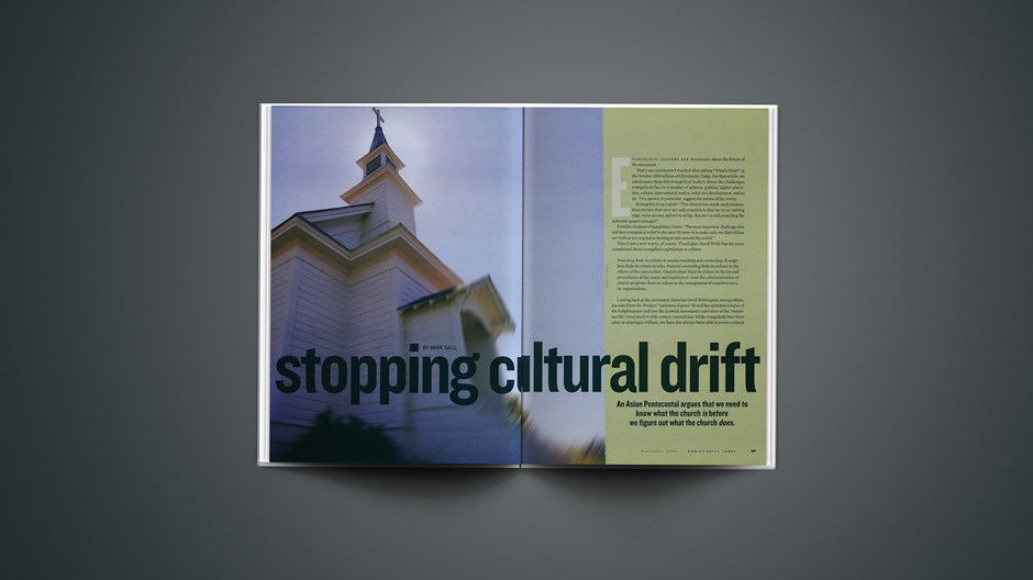 Stopping Cultural Drift
