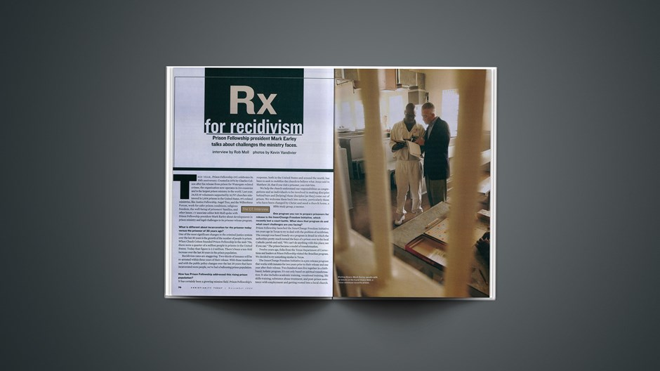 Rx for Recidivism