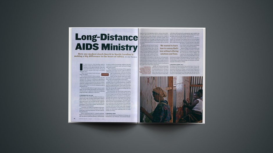 Long-Distance AIDS Ministry
