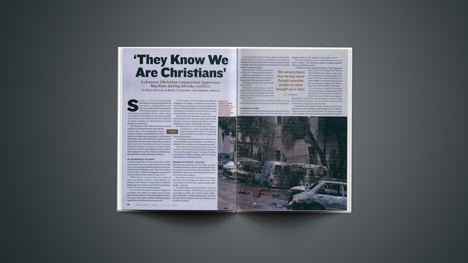 'They Know We Are Christians'