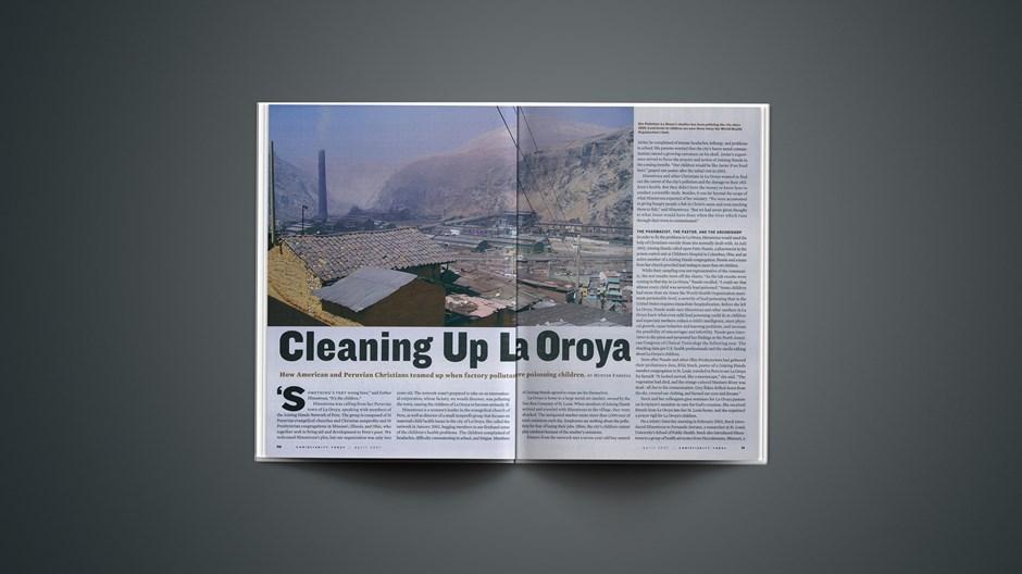 Cleaning Up La Oroya