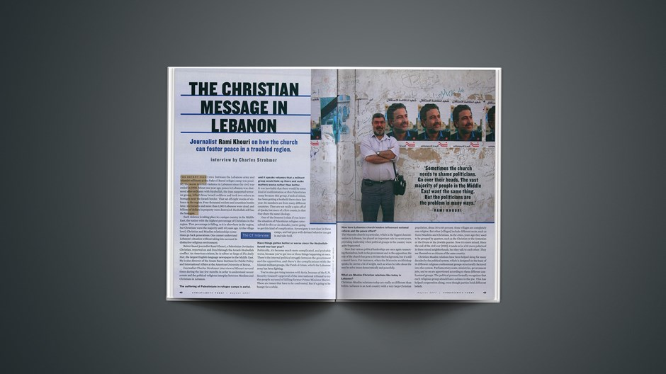The Christian Message in Lebanon